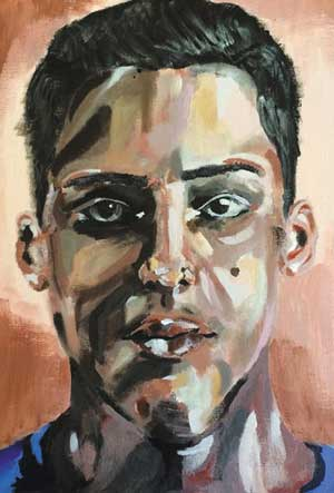 Djordje Jevtic autoportret