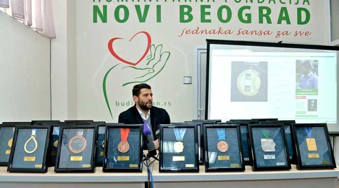 Aleksandar Šapić medalje