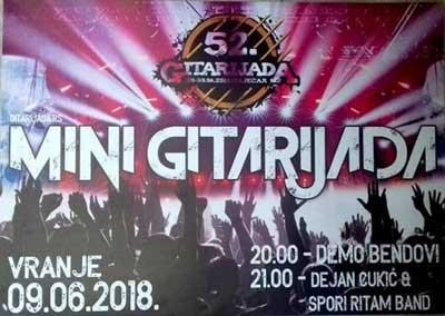 Mini gitarijada Vranje