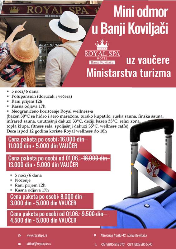 Banja Koviljača - Hotel Royal Spa