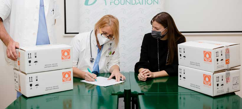 Fondacija Novak Đoković: Vredna donacija medicinske opreme