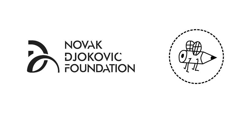 Škrabac i Fondacija Novak Đoković