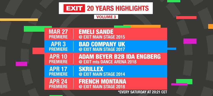 EXIT - 20 years highlights