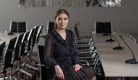 """Ivana Soković, predsednica Izvršnog odbora Kompanije """"Dunav osiguranje"""""""