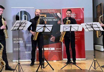 Banda saksofonista