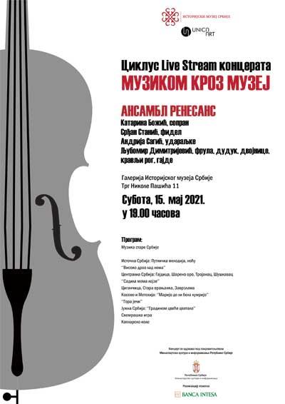 Muzikom kroz muzej: Ansambl Renesans