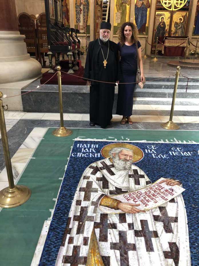 Mozaik Sveti patrijarh Pavle