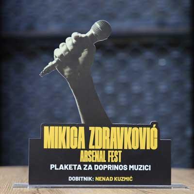 Plaketa Mikica Zdravković