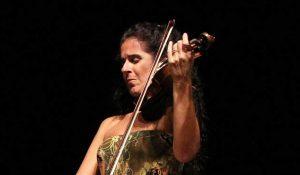 Violinistkinja Tania Camargo Guarnieri