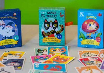 Kreativni centar: Tri društvene igre