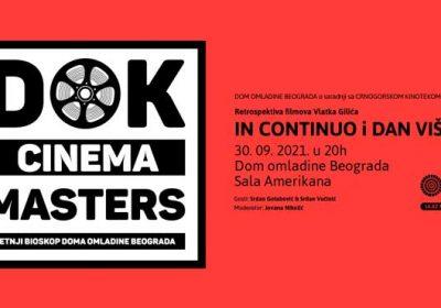 DOK CINEMA MASTERS: 30.9.2021.