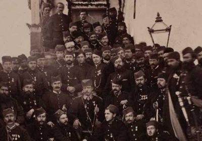 General M. G. Cernjajev i oficiri